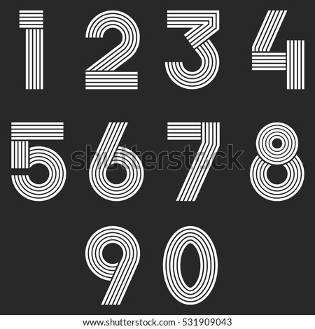 Number 6 stock images royalty free images vectors for Blueprint number