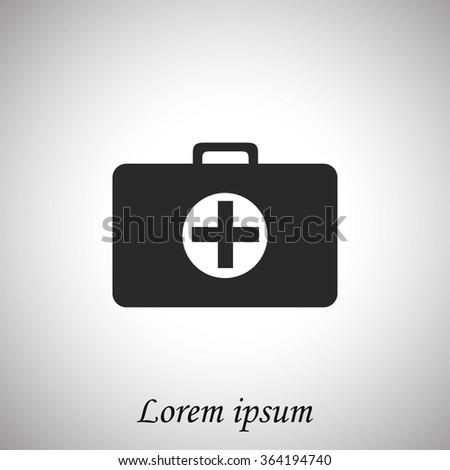 Nursing Bag icon - stock vector