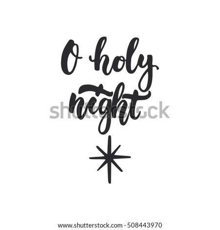 stock-vector-o-holy-night-lettering-chri