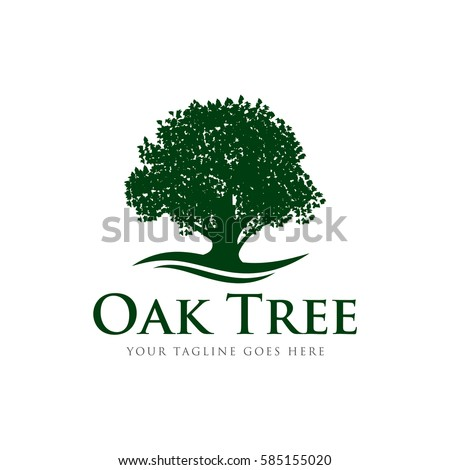 Oak Tree Silhouette Stock Images, Royalty-Free Images & Vectors ...