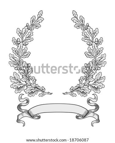 Oak Leaf And Acorn Stock Vectors & Vector Clip Art ...