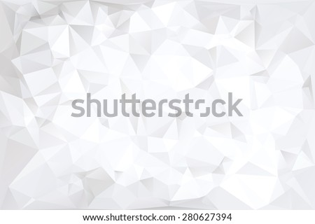 Off-White Polygonal Abstract Background Vector Illustration - stock vector