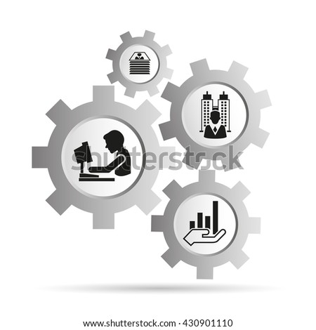 office and business management concept