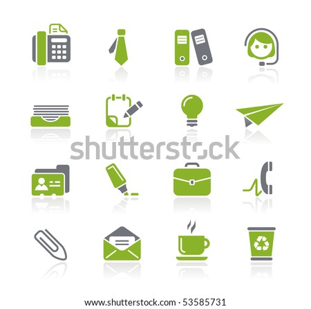 Office & Business // Natura Series - stock vector
