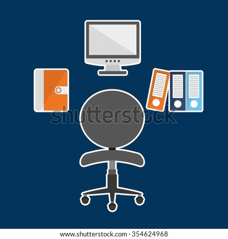 office concept design, vector illustration eps10 graphic