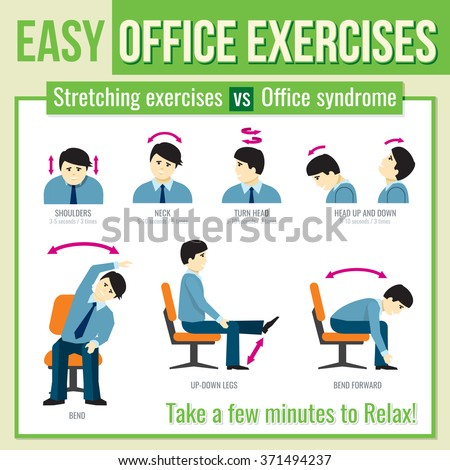 Office Exercise Stock Images Royalty Free Images