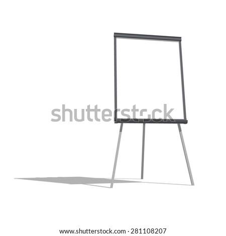Office flip chart board