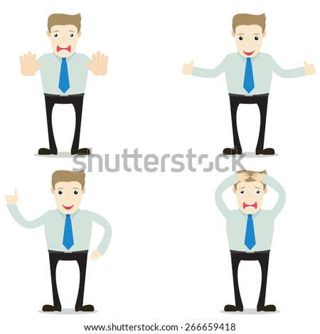 office man - stock vector