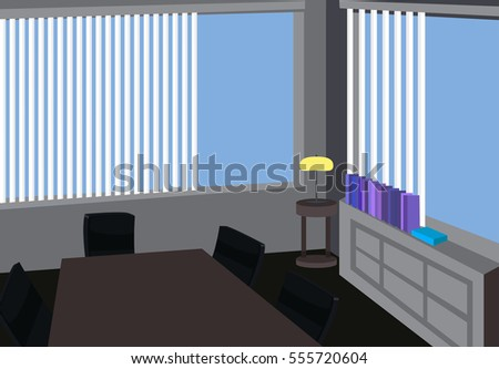 office workplace background