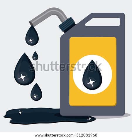 Oil and Petroleum digital design, vector illustration eps 10