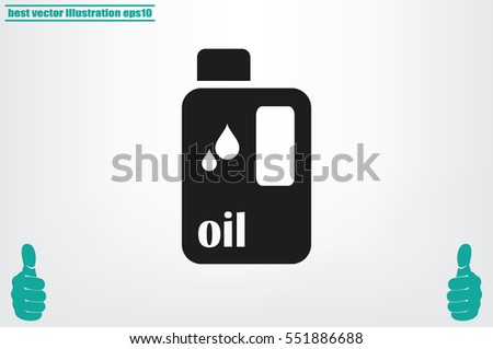 oil bottle icon