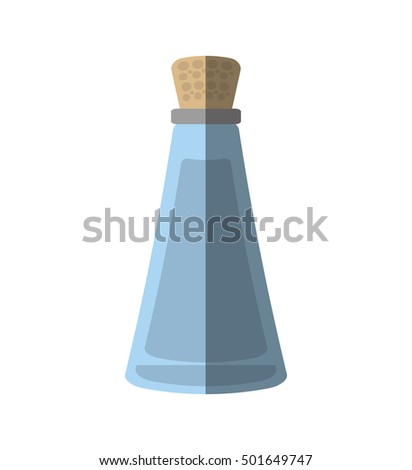 oil bottle spa product isolated icon vector illustration design