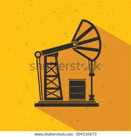 Oil industry flat design,vector