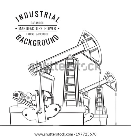 oil and gas rig diagram  oil  free engine image for user