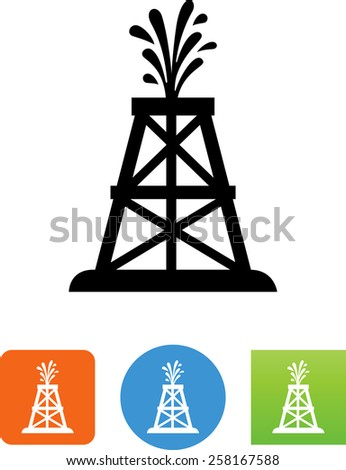Oil Well Stock Vectors, Images & Vector Art | Shutterstock