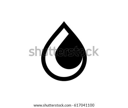 Oil Symbol Stock Vector Royalty Free 617041100 Shutterstock