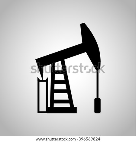 Oil tower icon