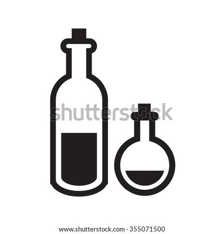 Oily Skin Icon vector - stock vector