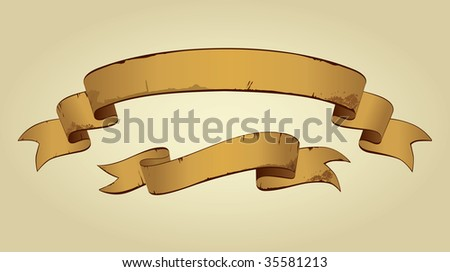 Old Banners With Space For Text (vector). In the gallery also available XXL jpeg version of this image. - stock vector