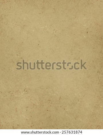 old brown paper background vector texture - stock vector