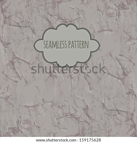 Old card for any design - stock vector