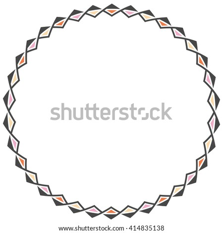 Rounders stock images royalty free images vectors for Classic border design