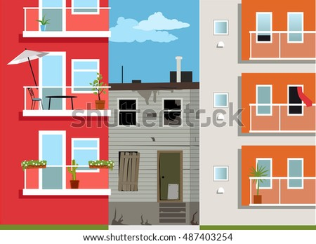 Low Income Housing Stock Images Royalty Free Images Vectors