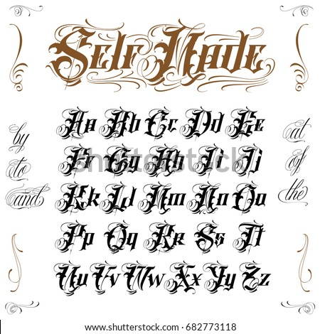 old english lettering script stock images royalty free images 445