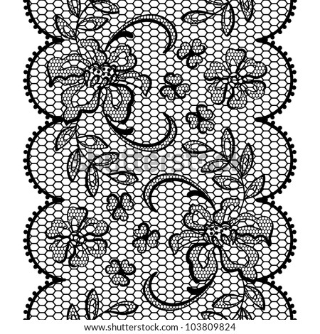 Mariage en noir et blanc Stock-vector-old-lace-background-ornamental-flowers-vector-texture-103809824