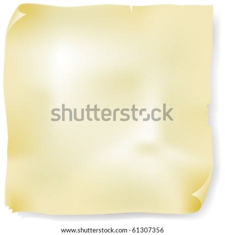 Old manuscript - stock vector