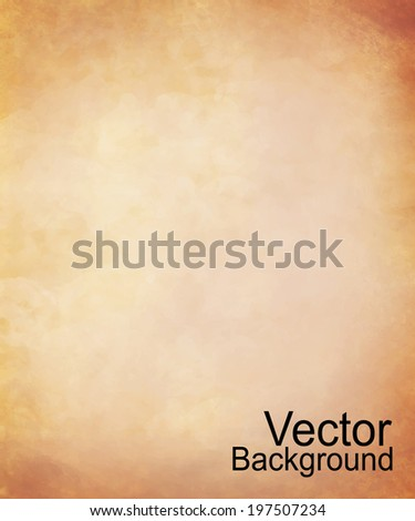 Old paper background - Vector - stock vector