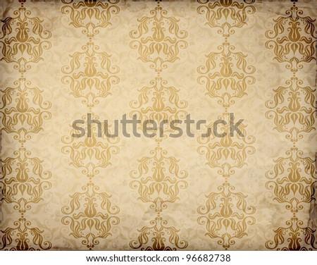 Old paper. Vector texture - stock vector
