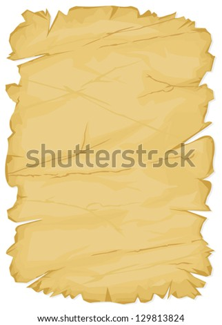 old paper (vector texture of the old paper) - stock vector