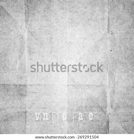 old paper, vintage texture, abstract vector background  - stock vector