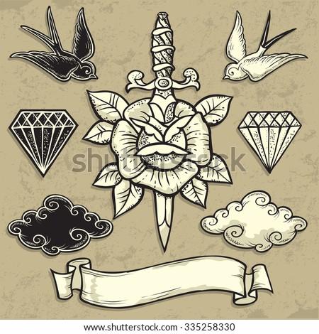 Tattoo Lizenzfreie Bilder Und Vektorgrafiken Kaufen