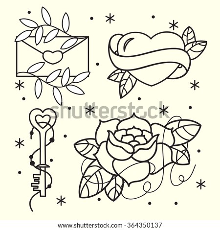 Heart Tattoo Stock Images Royalty Free Images amp Vectors