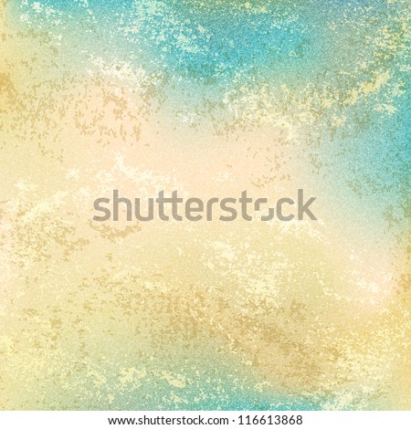 Old vintage backdrop with grunge texture remnants paint layer, cracks and noise effect. Empty abstract background with space for text. This clip-art vector illustration design element saved 10 eps. - stock vector