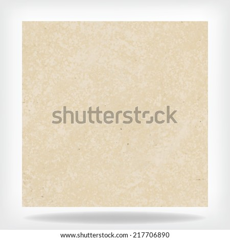 old vintage paper, beige white background vector layout with vintage texture design, cream ivory or light brown background color - stock vector