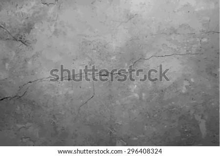 old wall texture, vector - stock vector