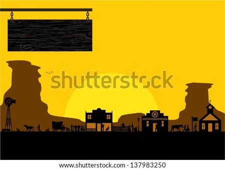 Old West Stock-Vektorgrafiken & Clip Art-Vektorgrafiken | Shutterstock