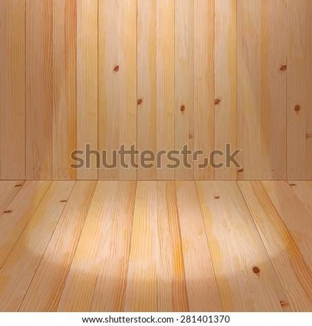 Old wood backdrops. Product backdrops background. Vintage wood background. Wood background texture. Oak wood backdrops. Light backdrops background. Wood studio background. Backdrops vector. - stock vector
