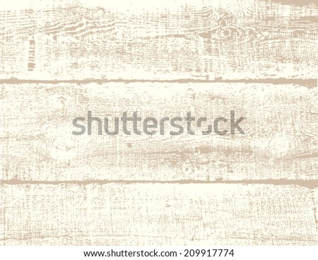 Old wood texture - stock vector