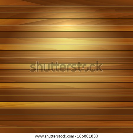 Old wooden texture. EPS 10. Wood planks texture. Vector illustration wooden background. Realistic wooden texture with boards.  - stock vector