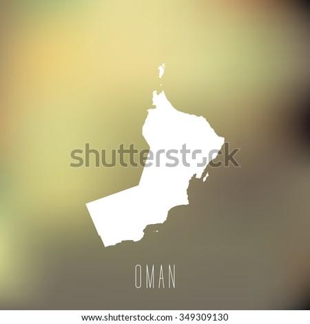 Oman - stock vector
