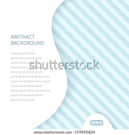 On an abstract background with a geometric pattern in shades of blue and gray. White empty space for text. Cold tone. The pattern of stripes.