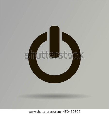 On Off Switch Stock Vector 450430309 Shutterstock