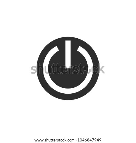 Onoff Switch Icon Power Symbol Vector Stock Vector 1046847949