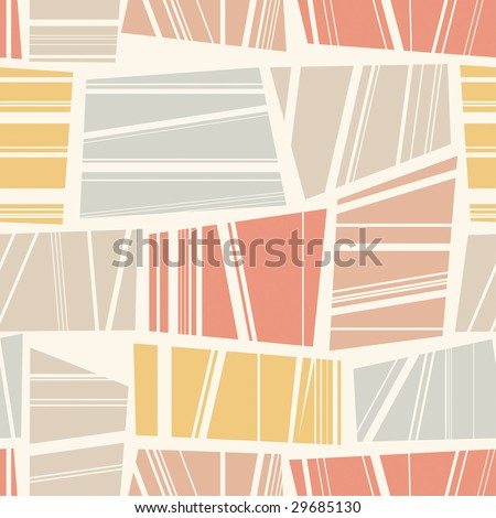one pattern in abstract style - stock vector