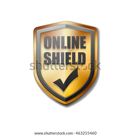 Online Shield sign