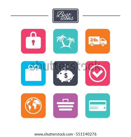 Online shopping ecommerce business icons credit stock vector online shopping e commerce and business icons credit card gift box and colourmoves